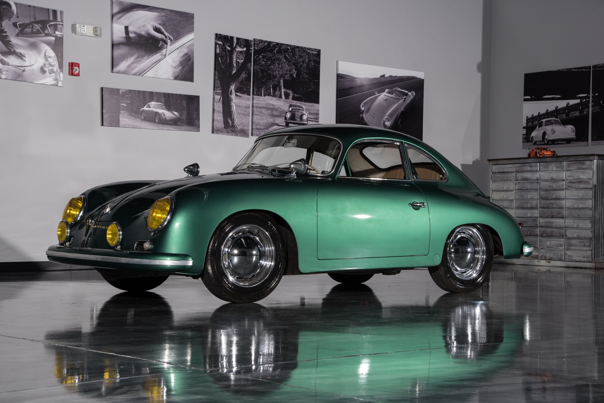 1956 Porsche 356 Coupe Rare Original Color Road Scholars